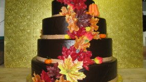 Fall Cake by Brewster Pastry